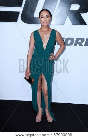 LOS ANGELES - FEB 1:  Grace Gealey at the