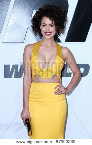 LOS ANGELES - FEB 1:  Nathalie Emmanuel at the