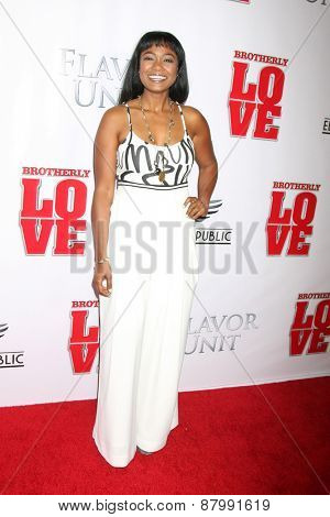 LOS ANGELES - FEB 13:  Tatyana Ali at the