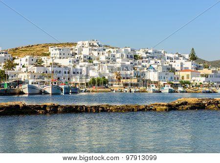 traditional Greek village