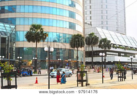 Colombo Downtown. Sri Lanka