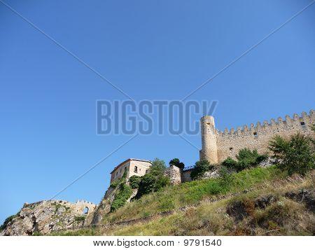 Frias castle, in Spain