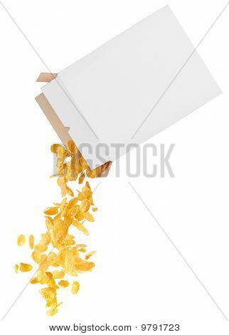 Corn-flakes Strewed From Box