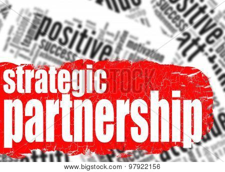 Word Cloud Strategic Partnership
