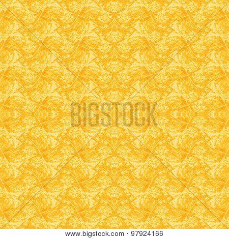 Seamless pattern yellow orange