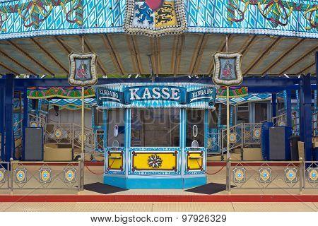 Amusement Ticket Window In Germany
