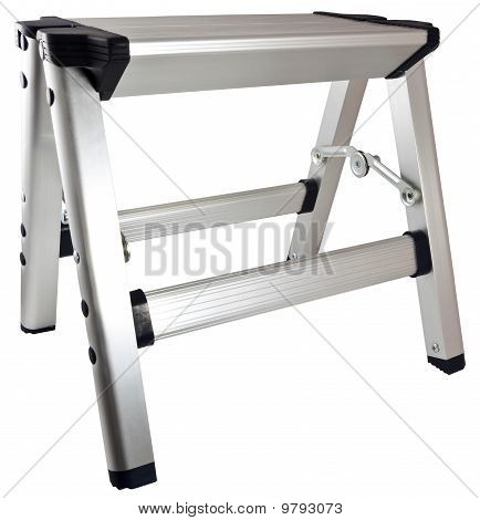 Aluminum Step Stool Ladder