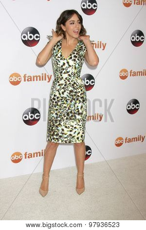LOS ANGELES - AUG 4:  Chloe Bennet at the ABC TCA Summer Press Tour 2015 Party at the Beverly Hilton Hotel on August 4, 2015 in Beverly Hills, CA