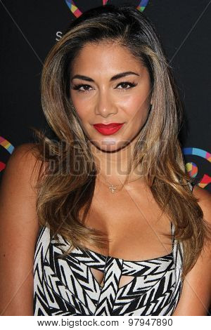 LOS ANGELES - JUL 31: Nicole Scherzinger at the Special Inaugural Dance Challenge at the Wallis Annenberg Center For The Performing Arts on July 31, 2015 in Beverly Hills, CA