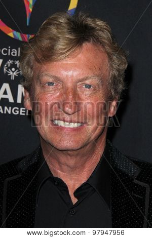 LOS ANGELES - JUL 31: Nigel Lythgoe at the Special Inaugural Dance Challenge at the Wallis Annenberg Center For The Performing Arts on July 31, 2015 in Beverly Hills, CA