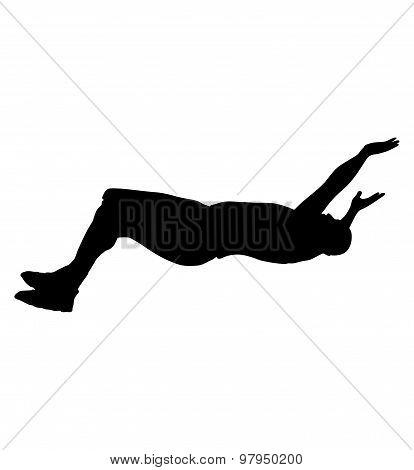 Man Falling Down