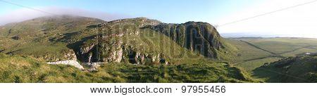 Misty Scottish Hills