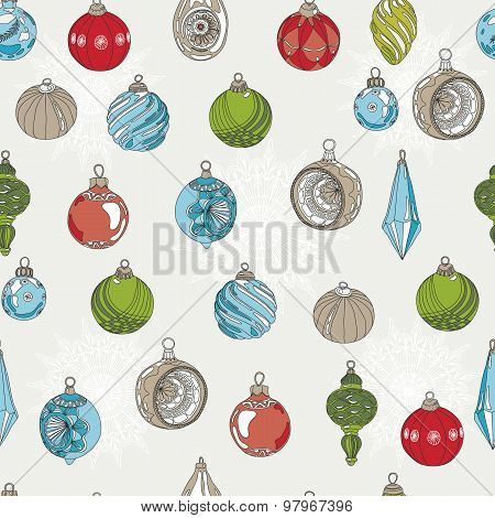 Vector Christmas pattern.