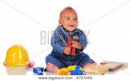 Saw-happy Baby
