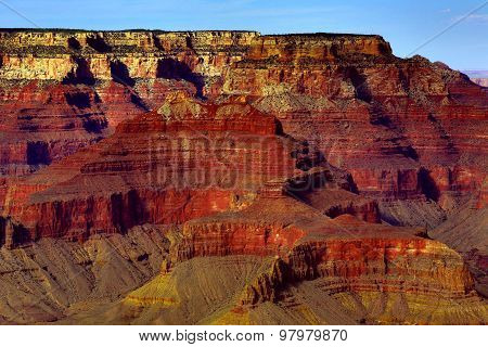 Red Rock in the Grand Canyon
