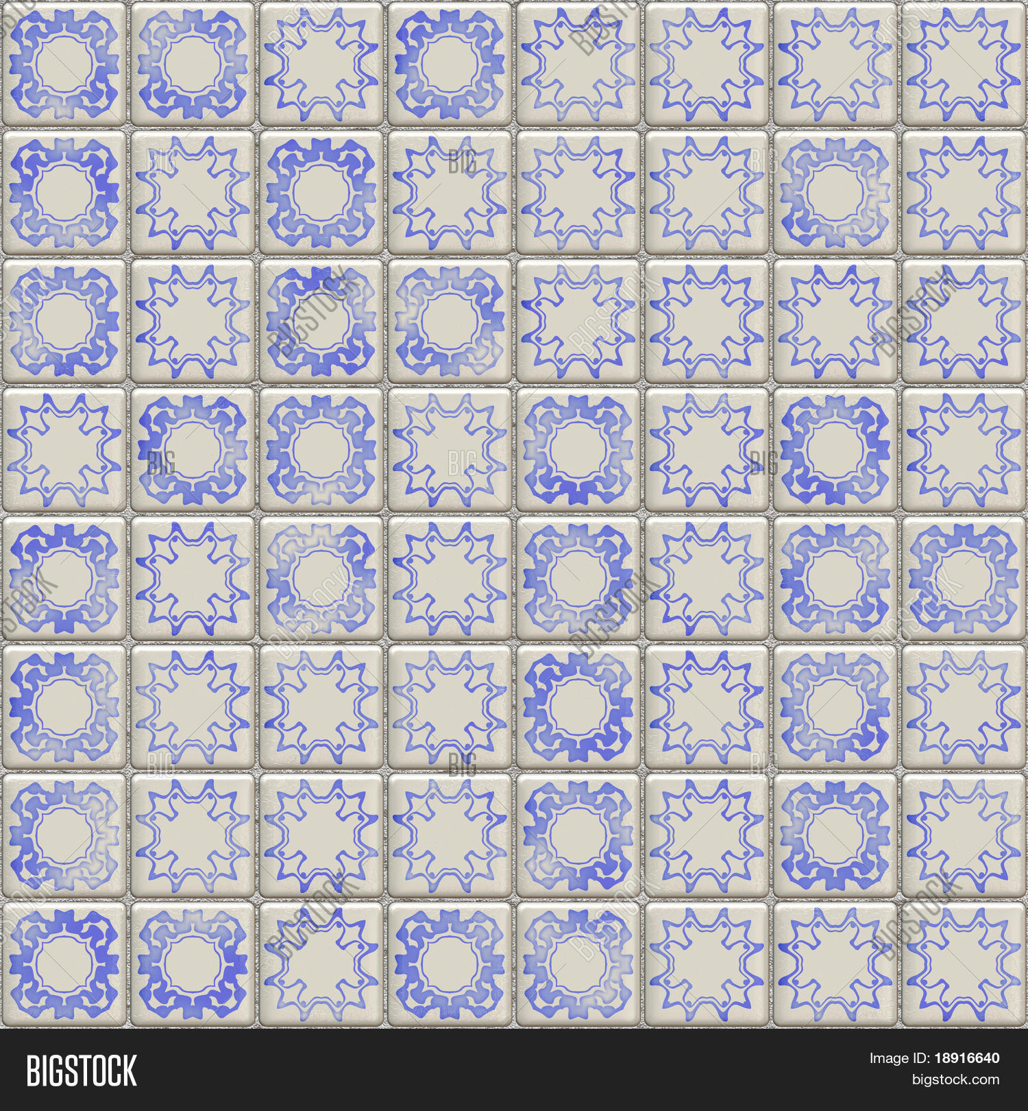 Dutch ceramic tiles tillable image photo bigstock dutch ceramic tiles tillable seamlessly as a pattern dailygadgetfo Image collections