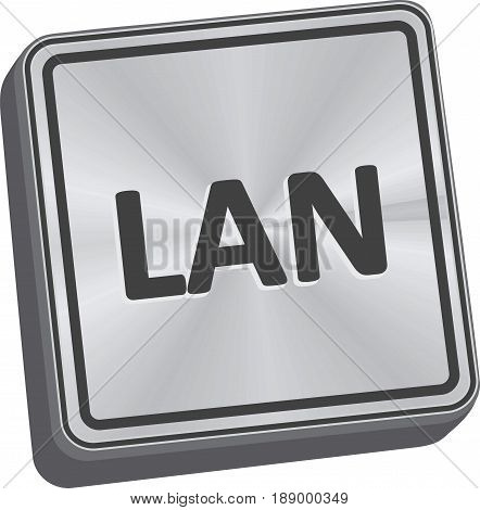 Lan Button
