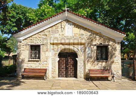 Church of Saint Zosim in Sozopol Bulgaria