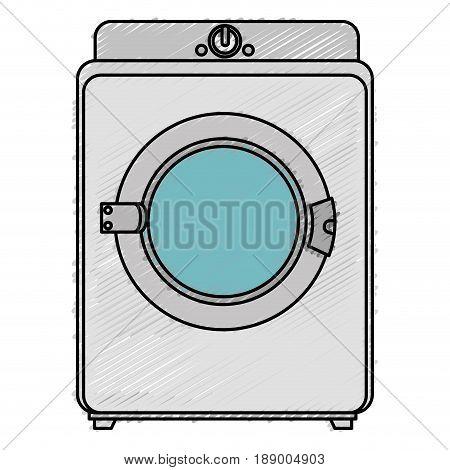 washer machine isolated icon vector illustration design