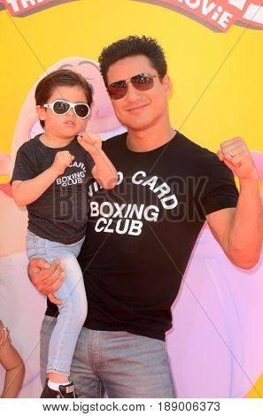 LOS ANGELES - MAY 21:  Dominic Lopez, Mario Lopez at the