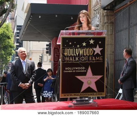 LOS ANGELES - MAY 30:  Keri Russell at the Keri Russell Honored With a Star Ceremony on the Hollywood Walk of Fame on May 30, 2017 in Los Angeles, CA
