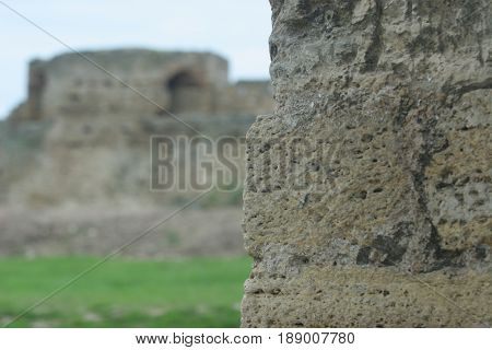 Bilhorod-dnistrovskyi Fortress Is A Historical And Architectural Monument Of Xiv Centuries. Country