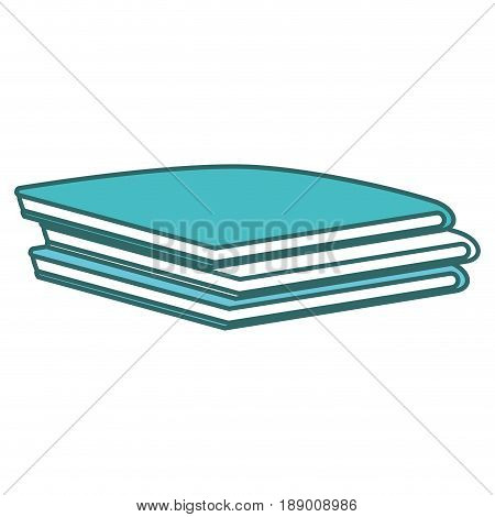 Pile of folded clothes vector illustration design