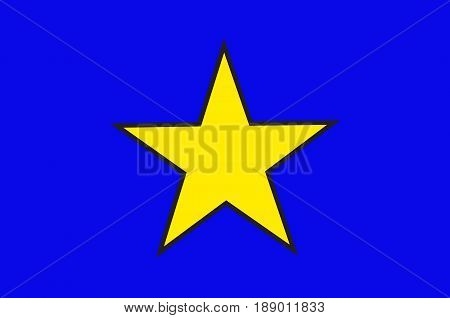 Flag of Istres is a commune in southern France. It is in the Provence-Alpes-Cote d'Azur region in the Bouches-du-Rhone department of which it is a subprefecture