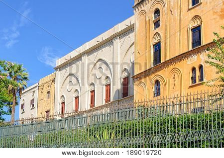 The fascinatingly eclectic Norman Palace (Palazzo dei Normanni) - Palermo Sicily Italy