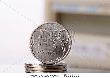 Money with electric meter on background. Payment of electricity.