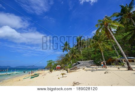 Tropical Sea In Palawan, Philippines