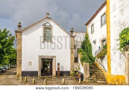 Church of St.John Baptist in Obidos - Portugal