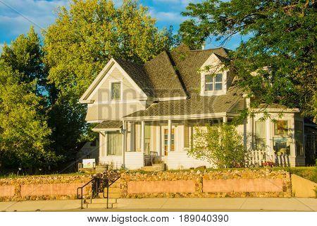 Vintage house in Belle Foiurche, South Dakota