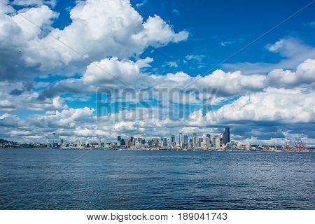 Taken from Harbor Drive West Seattle Washington State.
