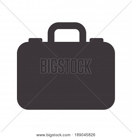 luxury suitcase with professional businessman, vector illustration