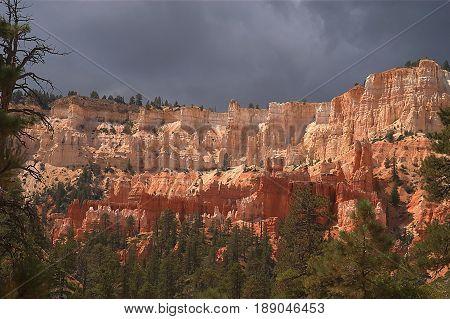 Bryce Canyon Utah at midday - Bryce Canyon, Utah