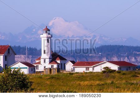 Point Wilson Lighthouse, Port Townsend, Washington State