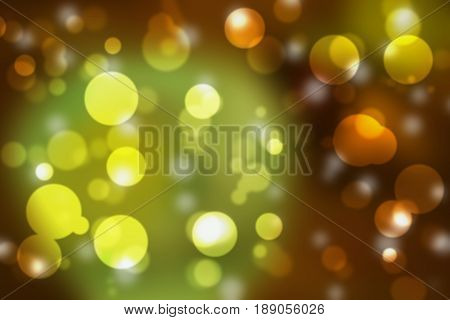 Abstract bokeh background blur style for christmas. You can apply for bokeh christmas