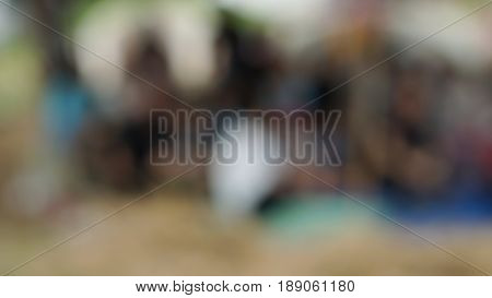Out of focus lighting, blur and abstract background