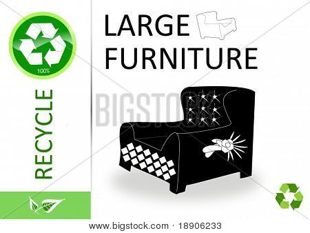 Please recycle large furniture