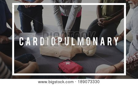CPR Training Demonstration Class Emergency Life  Rescue