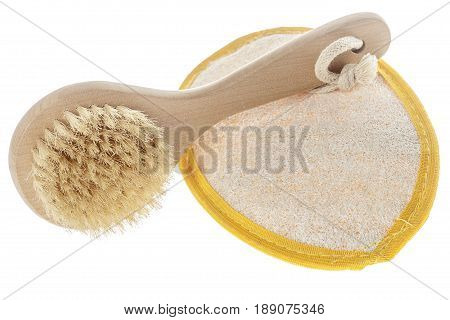 Skin Loofah Isolated
