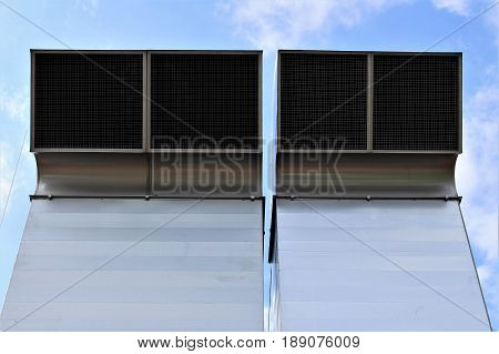 An Image of a Ventilation System - blower