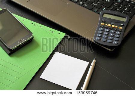 An Image of a Business Scenario - desk