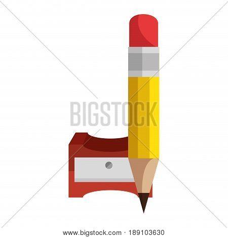 Pencil sharpener symbol icon vector illustration graphic design