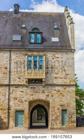 Entrance Gate Of The Stadthagen Castle