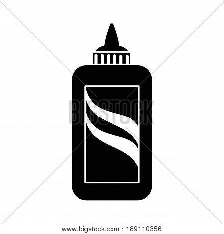Bottle of glue icon vector illustration graphic design