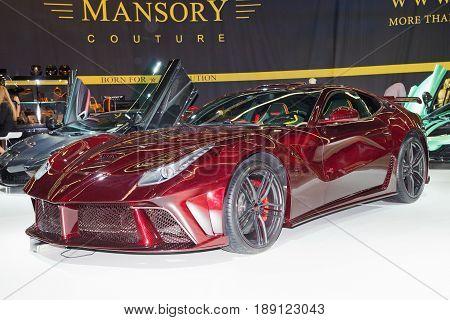 Mansory F12 La Revoluzion