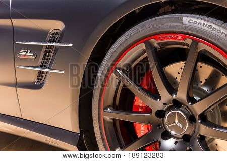 Special Edition Mercedes Sl