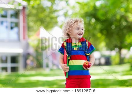 Child Going Back To School, Year Start